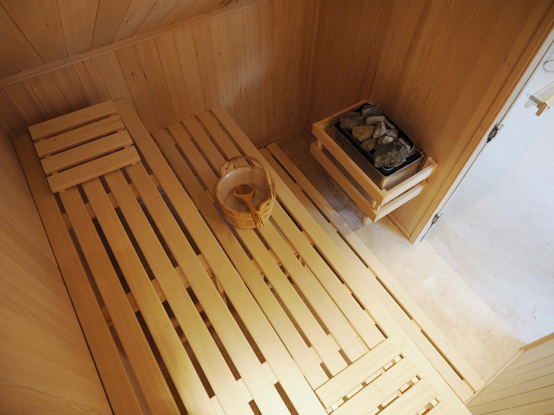indoor saunas