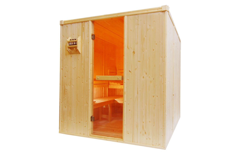 4 person sauna room