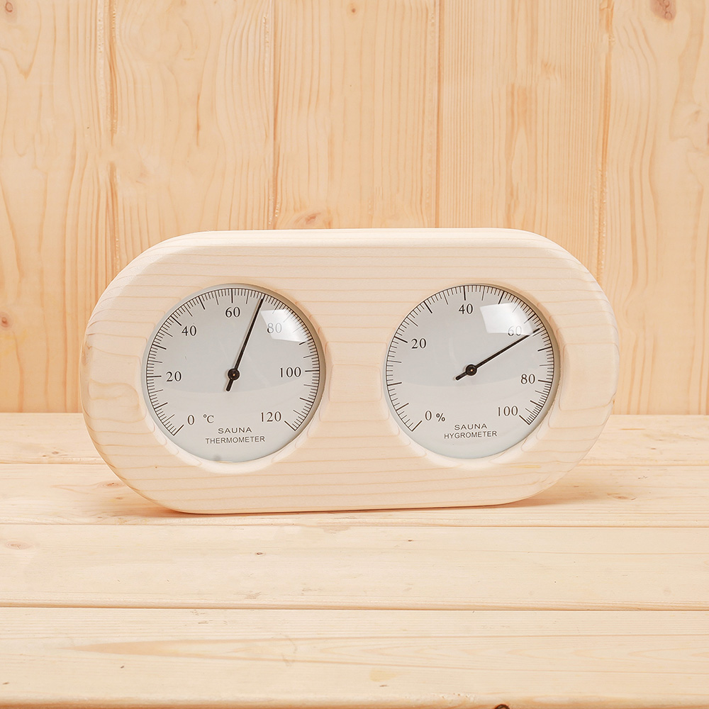sauna thermometer and hygrometer