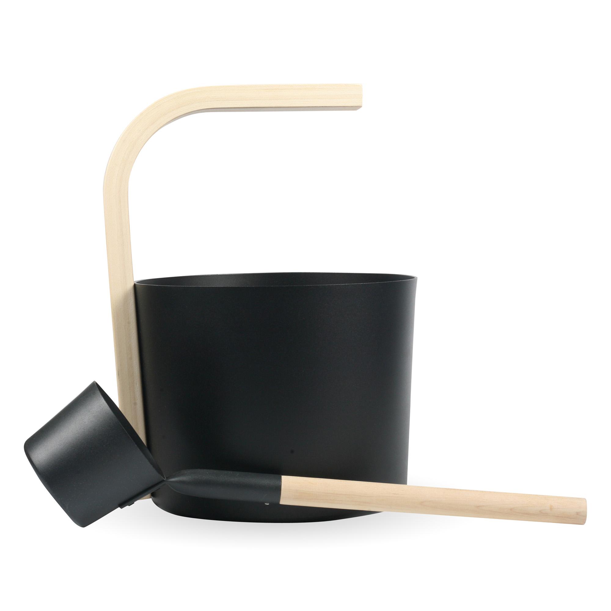 alu. sauna bucket W-B081