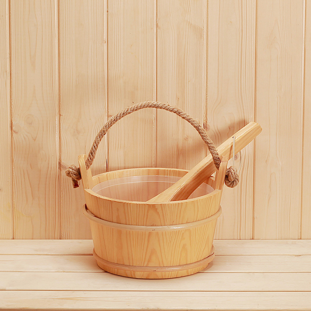 sauna bucket W-B008