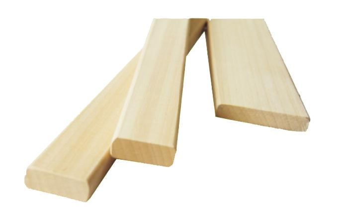 Abachi bench, floor