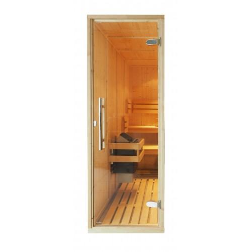 sauna room door