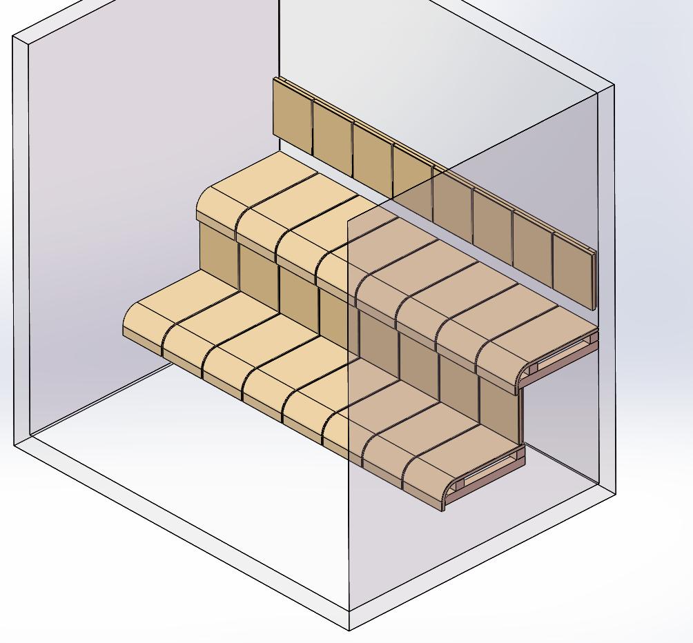 curved sauna bench_2