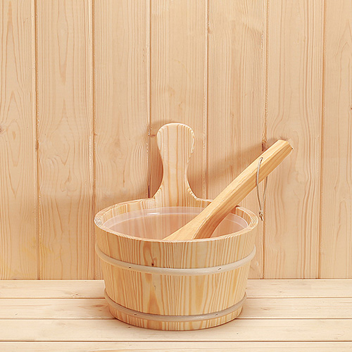 Wooden Sauna Bucket