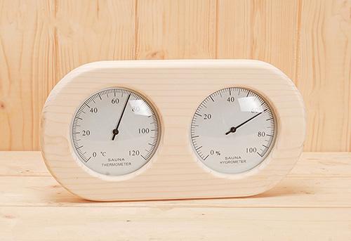 Sauna Hygro/Thermometer
