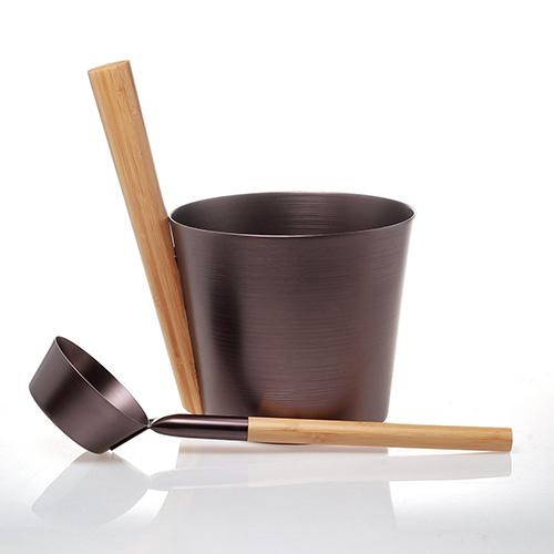 alu. sauna bucket W-B065