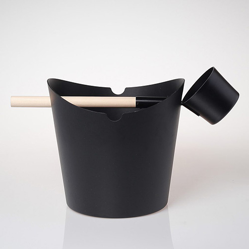 alu. sauna bucket W-B089