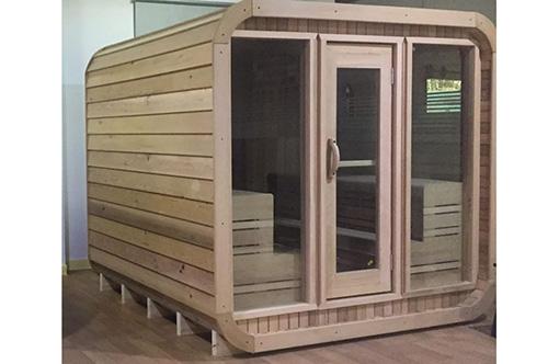 outdoor luna sauna