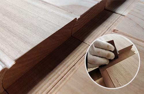 hand polishing for woods