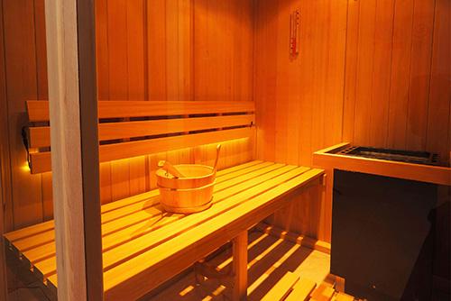 Indoor Saunas Room