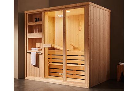 indoor sauna rooms