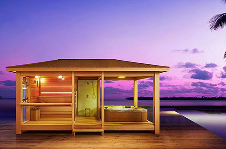 outdoor sauna rooms