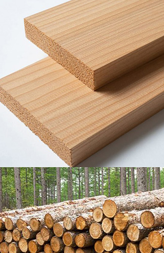 sauna lumber