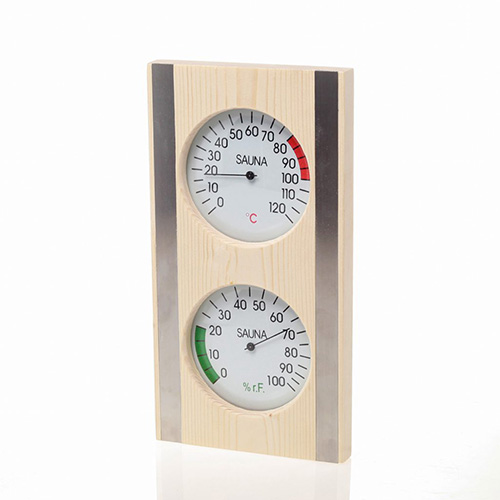 sauna thermometer and hygrometer W-T066