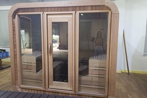 square-sauna-room