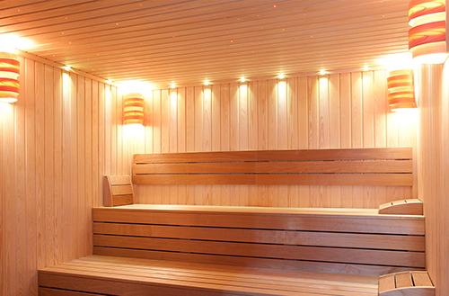 how to build a sauna room