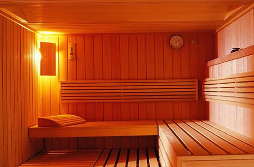 indoor sauna room 1