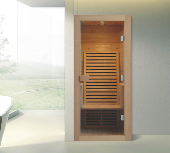 one person infrared sauna room