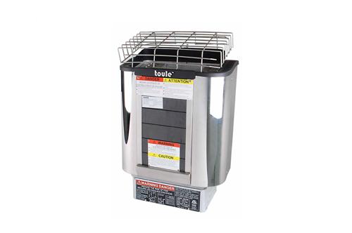 ETL sauna heater with external controller