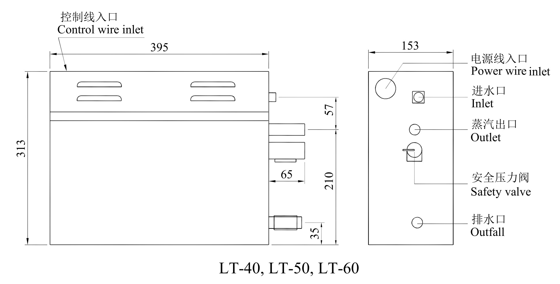 LT-40, LT-50, LT-60