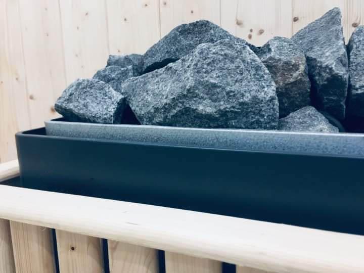 sauna heater stone