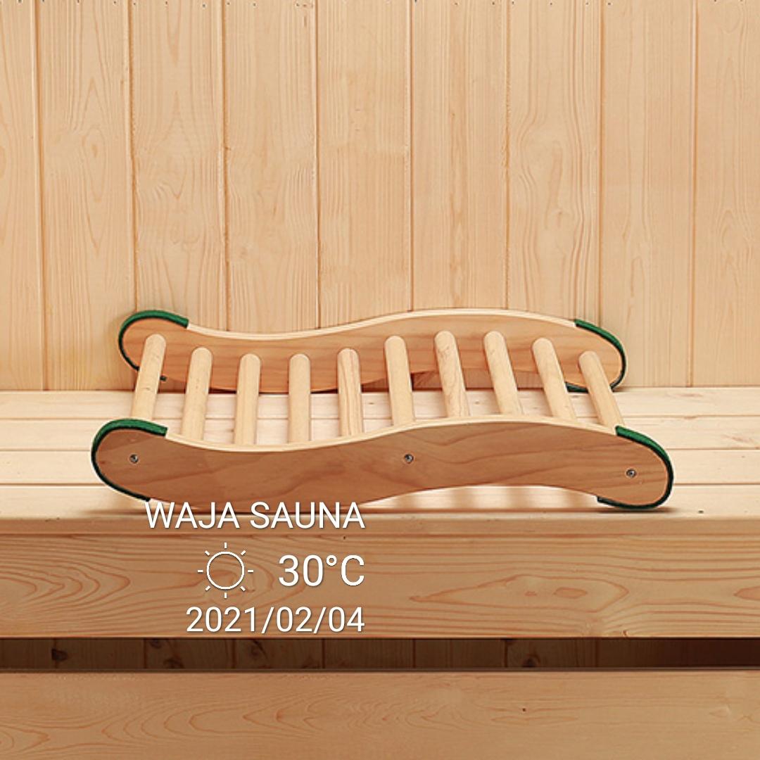 sauna room backrest